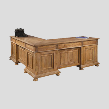 Hekman Relaxed Classic L-Desk